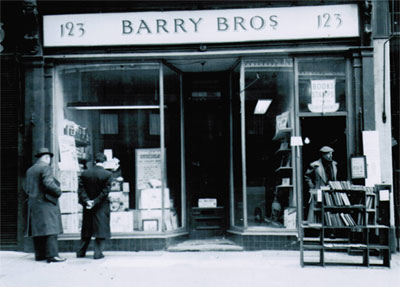 Photograph of Barry Brothers Original Showroom