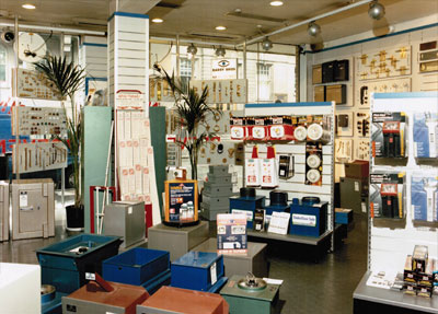 Inside the Barry Bros Showroom