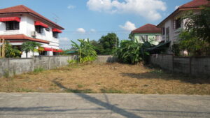 Securing unoccupied land
