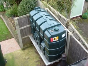 Oil tank security