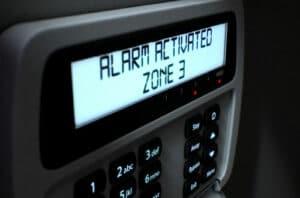 Alarm Activated Zone 3